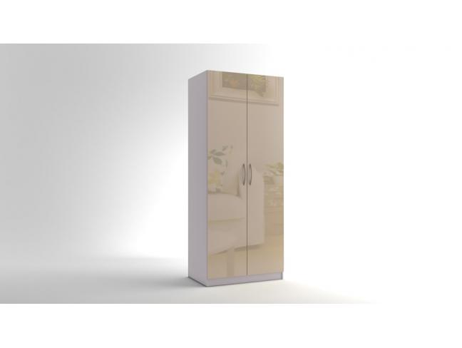 Двукрилен гардероб Еврика мод.2 МДФ на супер цени