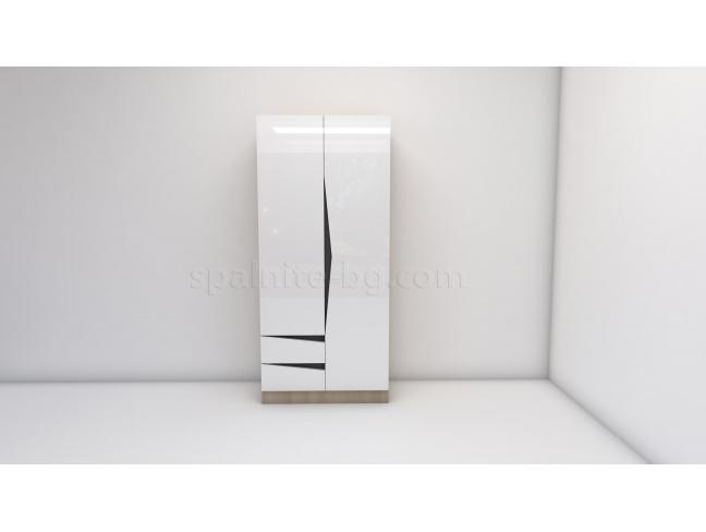 Двукрилен гардероб Марти мод 3 на супер цени