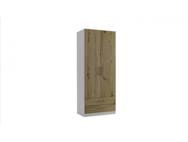 Двукрилен гардероб с чекмеджета Еврика мод.3 на супер цени
